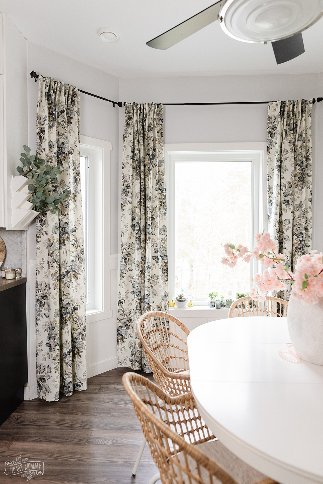 Learn how to sew drapes with pleater tape with this simple DIY curtain tutorial