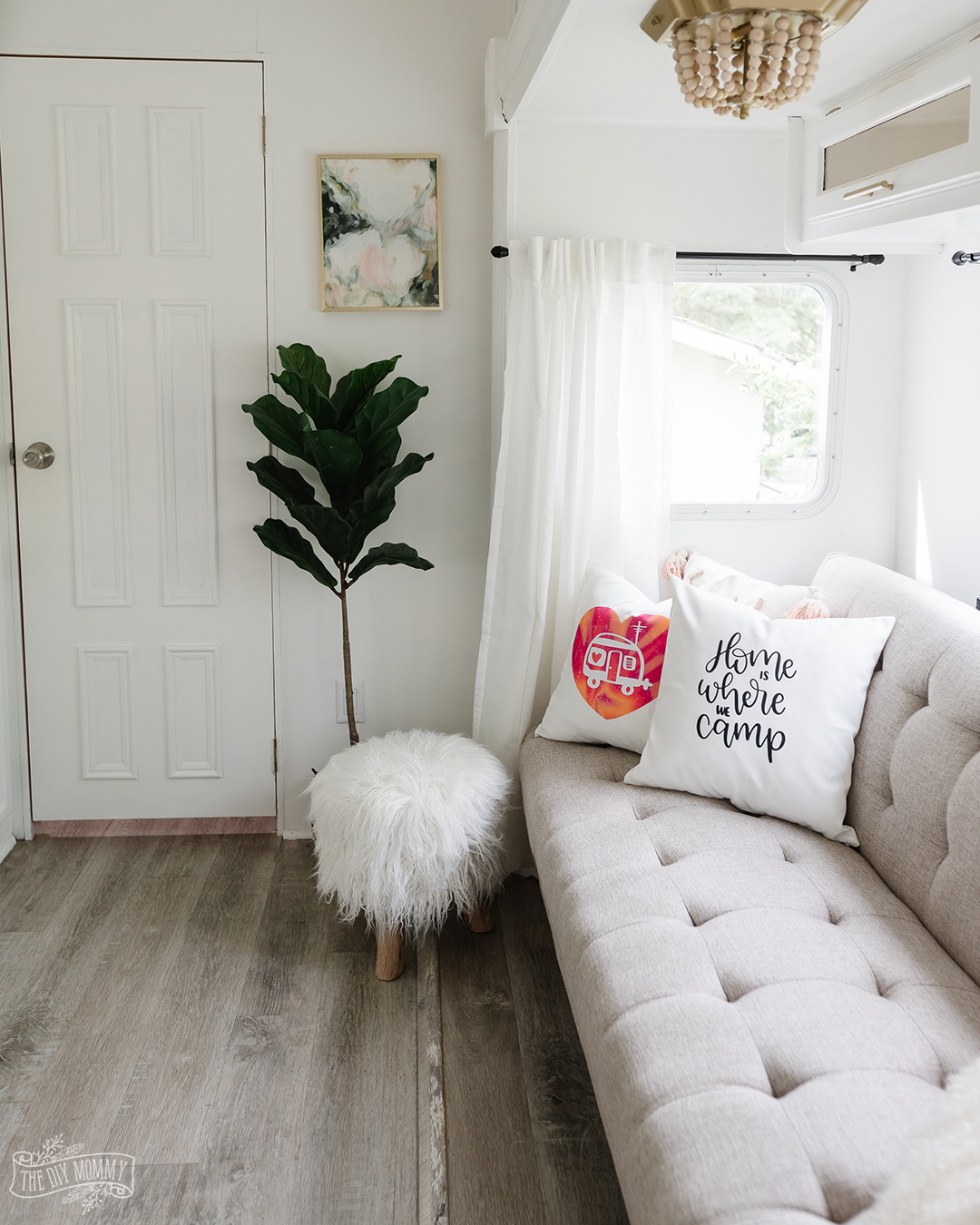 Learn how to make beautiful, professional looking throw pillows with Cricut Infusible Ink.