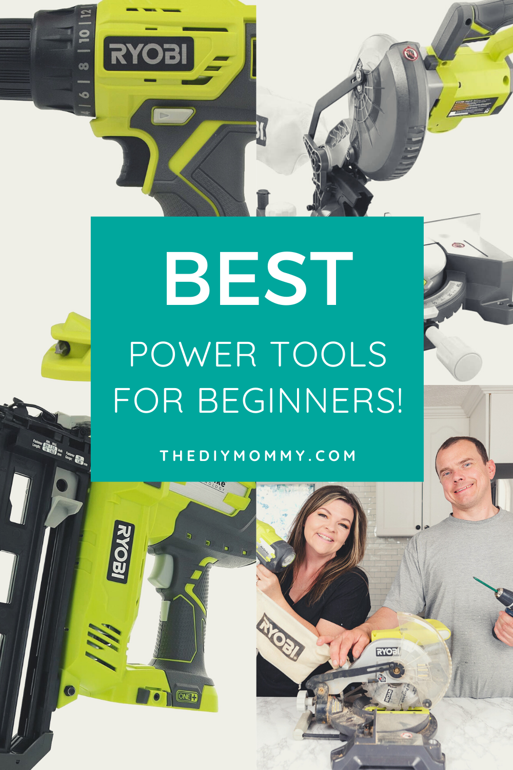 Love to DIY? These power tools are the best for beginners!