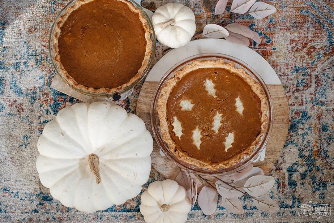 Learn how to make pumpkin pie from scratch with fresh pumpkin, DIY pumpkin spice and homemade pie crust.